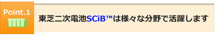 SCiB 東芝二次電池SIPシリーズ 株式会社電巧社